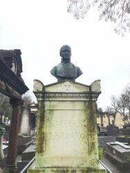 Monument à Jacques Lisfranc – Cimetière de Montparnasse – Paris (75014)