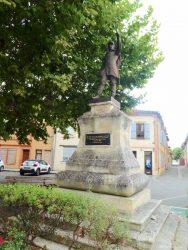 Monument aux morts à la mémoire des vétérans des armées de la guerre de 1870 – L'Isle-en-Dodon