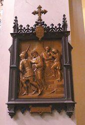 Placas de las 14 Estaciones – Chemin de croix – Parroquia Nuestra Señora del Carmen – Buenos Aires