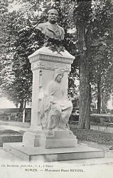 Buste du monument à Henri Revoil (fondu) – Nîmes