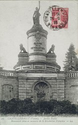 Monument à la gloire de la Révolution française, ou La République – Châtellerault