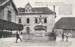 Monument à Blaise Rigault – Sergines