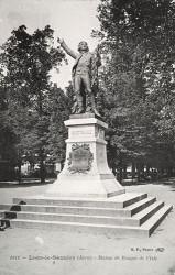 Monument à Rouget de l'Isle – Lons-le-Saunier