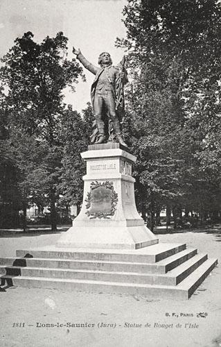 Monument rouget de l isle lons le saunier for Lons code postal