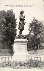 Monument à Jean-Jacques Rousseau – Montmorency (fondu)