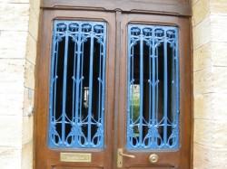 Double panneau de porte Guimard – 6 rue Colonel Raynal – Saint-Dizier