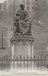 Monument à saint Vincent de Paul – Châtillon-sur-Chalaronne