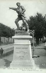 Monument à Surcouf – Saint-Malo