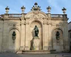 Monument à Israël Sylvestre – Place Vaudémont – Nancy