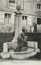 Monument à Hippolyte Taine – Vouziers (détruit)