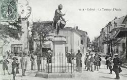 Monument au Tambour d'Arcole, ou André Etienne – Cadenet