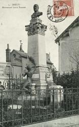 Monument à Louis Terrier – Dreux (en partie fondu) (déplacé)