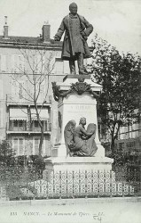 Monument à Thiers – Place Thiers – Nancy (déposé)