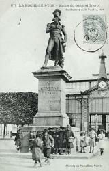 Monument au général Travot – La Roche-sur-Yon (fondu)