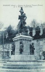 Monument au général Travot – Poligny (fondu) (remplacé)