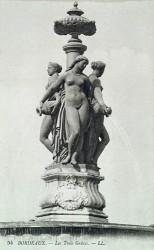 Fontaine des Trois Grâces – place de la Bourse – Bordeaux