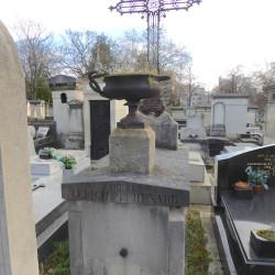 Tombe de la famille Leriche – Cimetière du Père Lachaise – Paris (75020)