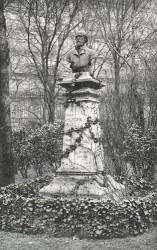Monument à Henri Murger – Jardin du Luxembourg – Paris (75006)