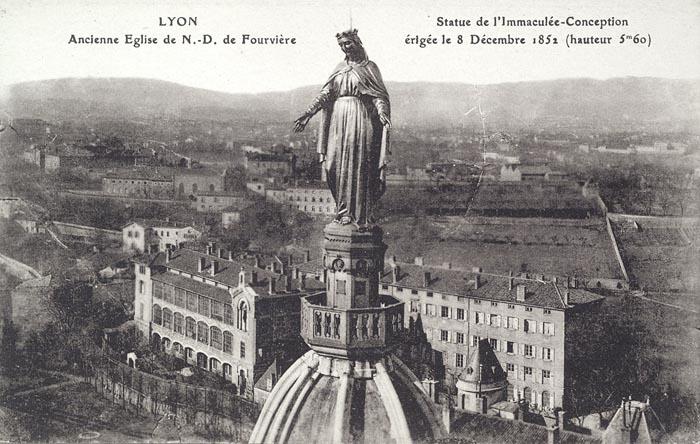 Vierge – basilique Notre-Dame de Fourvière – Lyon