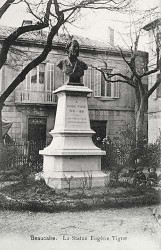 Monument à Eugène Vigne – Beaucaire
