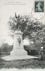 Monument au colonel de Villebois-Mareuil – Montaigu (fondu)