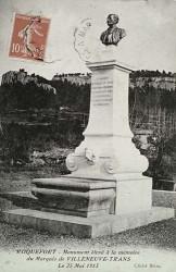 Monument au marquis de Villeneuve-Trans (Fondu) (Remplacé) – Roquefort-la-Bedoule (fondu)