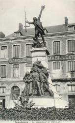 Le Monument de Wattignies avec Carnot, Jourdan, Duquesnoy, et le Tambour Stroh, ou Monument à Lazare Carnot – Maubeuge