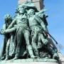 Le Monument de Wattignies avec Carnot, Jourdan, Duquesnoy, et le Tambour Stroh, ou Monument à Lazare Carnot - Maubeuge - Image6