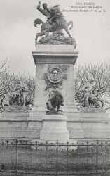 Monument à Antoine-Louis Barye – Paris (75004)