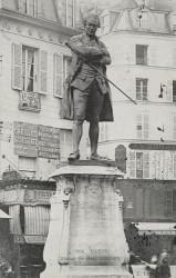Monument à Beaumarchais – Paris, 4e arr.