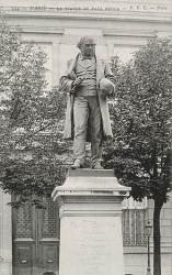 Monument à Paul Broca (fondu) – Paris, 75006