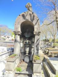 Tombe de la famille Jacques Wolff (Albert Wolff) – Cimetière du Père Lachaise – Paris (75020)