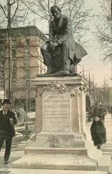 Monument à Charles Fourier – Paris 75018 (fondu) (remplacé)
