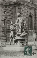 Monument à Jean-Léon Gérôme, ou Les Gladiateurs – Paris, 75007