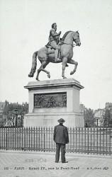 Monument à Henri IV – Paris, 1er arr.