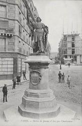 Monument à Jeanne d'Arc, ou Jeanne d'Arc libératrice de la France – Paris (75013)