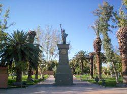 La Liberté éclairant le monde – Libertad – Plaza de la Libertad – Villa  Aberastain (San Juan)