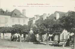Monument au poète Cyprien Despourrins – Argelès-Gazost (disparu)