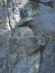 Monument à Eugène Gilbert – Parc des Bourins – Vichy