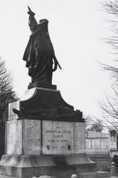 Monument aux morts de la Grande Guerre, ou La France douloureuse à ses fils glorieux – Le Cateau-Cambrésis