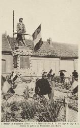 Monument aux morts de 14-18, ou La Résistance – Méry-la-Bataille