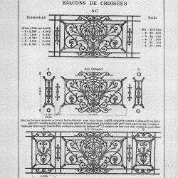 CAP_PL0031 – Balcons de croisées