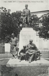Monument à Émile Zola (fondu) – Paris (75015)