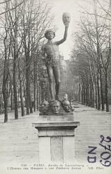 Le Marchand de masques – Jardin du Luxembourg – Paris (75006)