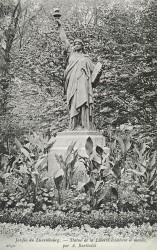 La Liberté éclairant le monde – Jardin du Luxembourg – Paris (75006)