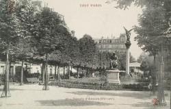 La Paix armée – square Montsouris – Paris (75014)
