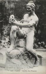 Premier artiste, ou l'Âge de la pierre taillée – Jardin des Plantes – Paris (75005)