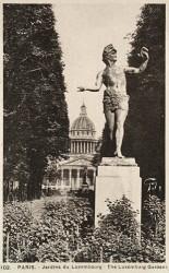Le Rapsode, ou Acteur grec – Jardin du Luxembourg-  Paris (75006)