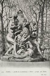 Le triomphe de Silène – Jardin du Luxembourg – Paris (75006)