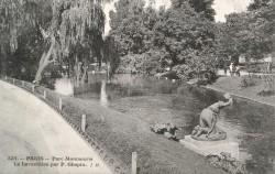La Lavandière (la Laveuse) – Parc Montsouris – Paris 75014 (fondu)